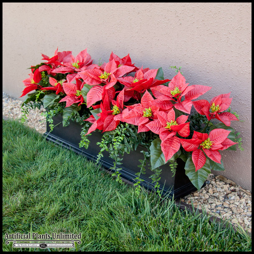 Artificial Holiday Plants