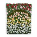Flower Wall Indoor Artificial, 48in.L x 24in.H