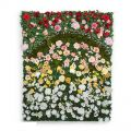 Flower Wall Indoor Artificial, 96in.L x 48in.H