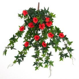Outdoor Artificial Morning Glory Vines - 5 Colors