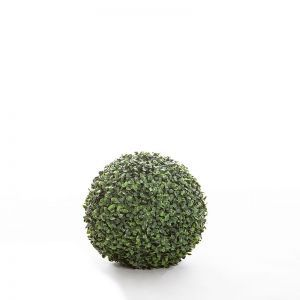11in. Artificial Boxwood Topiary Balls - Indoor