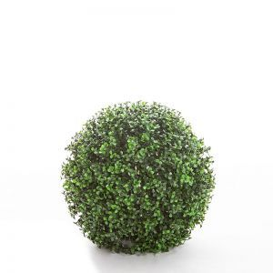 11in. Ornamental Boxwood Topiary Balls - Indoor