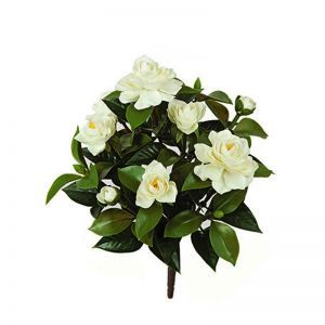 15in. Outdoor Artificial Gardenia Bush