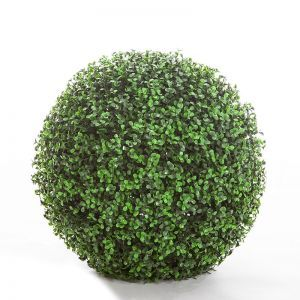 19in. Ornamental Boxwood Topiary Balls - Indoor