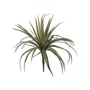 26in. Yucca Bush - Green/Red|Indoor