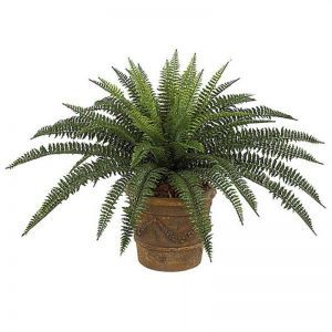 30in. Outdoor Rated Artificial Boston Fern