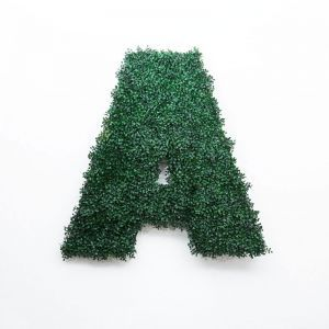 Indoor Artificial Living Wall Letters