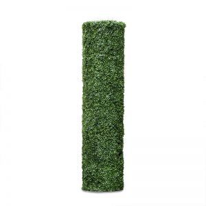 72inH Boxwood Cylinder Pillar Topiary, Indoor