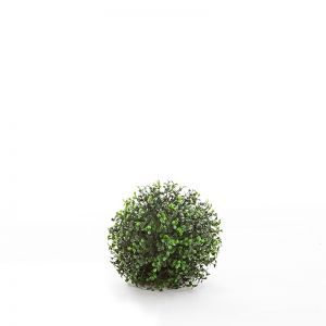 7in. Ornamental Boxwood Topiary Ball - Outdoor
