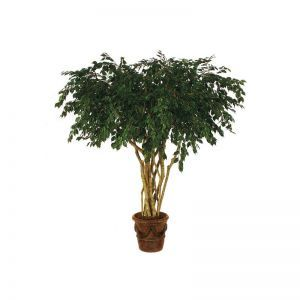 8' Fire Retardant Artificial Ficus Tree