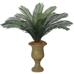 44in. Small Sago Palm Cluster, Outdoor Rated