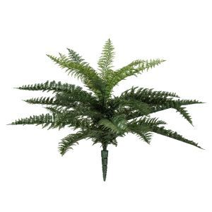 Outdoor Rated Artificial Ruffle Fern