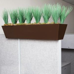 Cubicle Privacy Grass Hedge