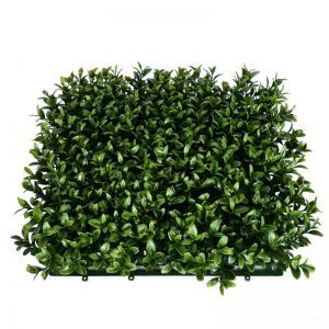 Duraleaf Plush Boxwood Living Wall, Outdoor