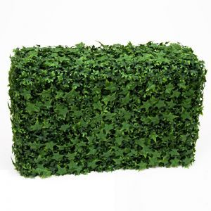 English Ivy Fire Retardant Artificial Hedge 24in.L x 12in.W