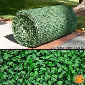 Fire Retardant Boxwood Rolls