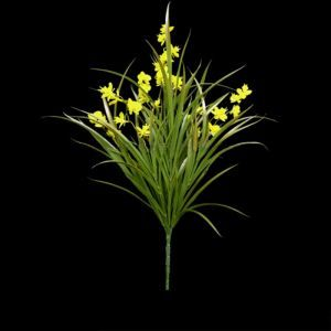 22in.Freesia Bush, Yellow- Outdoor Rated