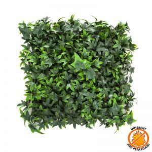 12in. X 12in. Ivy Foliage Mat - Inherently Fire Retardant
