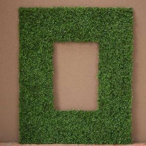 Boxwood Outdoor Artificial Frame 50in.L x 50in.H w/ 26in.L x 26in.H Opening