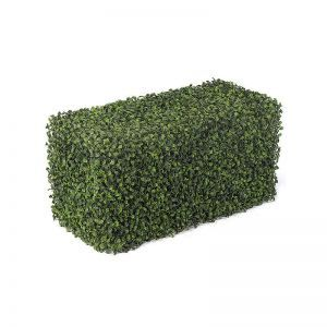 Boxwood Indoor Artificial Hedge 24in.L x 12in.W