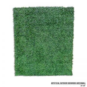 Boxwood Artificial Outdoor Living Wall 72in.L x 60in.H