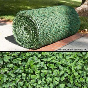 16' Boxwood Outdoor Artificial Roll