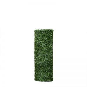48inH Boxwood Cylinder Pillar Topiary, Indoor