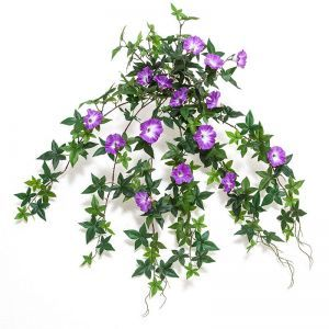 26in. Morning Glory Vine, Indoor Rated - Purple