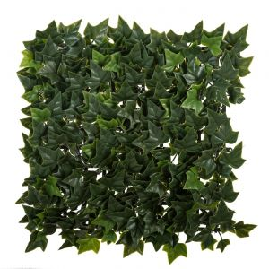 10in. x 10in. Artificial Boston Ivy Mat - Outdoor Rated