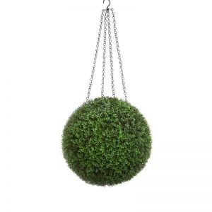 Boxwood Long Grain Hanging Spheres, Outdoor