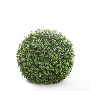 15in. Ornamental Boxwood Topiary Ball - Outdoor