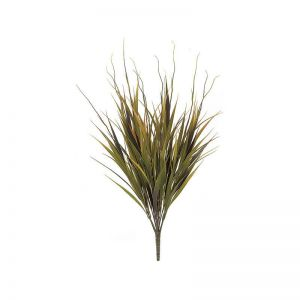 21in. Sword Grass Bush - Green/Orange|Indoor
