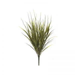 21in. Sword Grass Bush - Yellow/Green|Indoor