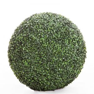 36in. Outdoor Boxwood Topiary Ball