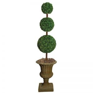 84in. Outdoor Boxwood Topiary - Three Tiers