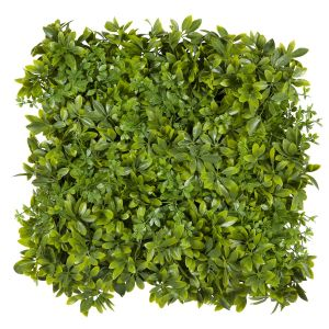 20in. Houseplant Tropical Foliage Tile, Indoor