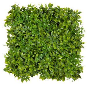 20in. Houseplant Tropical Foliage Tile, Outdoor