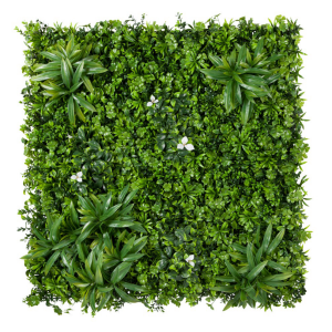 40in. Mixed Foliage Tile, Outdoor