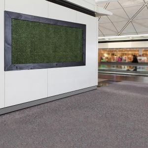 Grass Artificial Indoor Living Wall 72inHx36inH w/4in Frame