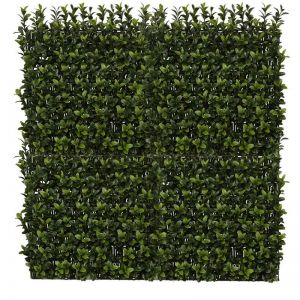 40in. X 40in. Duraleaf Boxwood Wall Mat, Outdoor