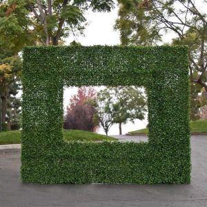 Boxwood Living Wall Frame, Indoor