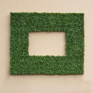 Boxwood Indoor Artifical Frame 38in.L x 25in.H w/ 26in.L x 13in.H Opening