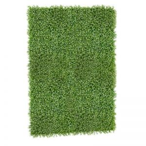 Indoor Artificial Gypso Flowering Grass Living Walls