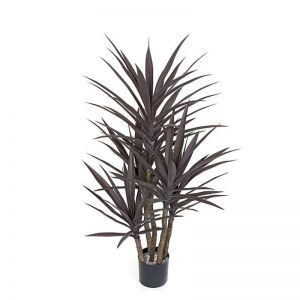 53in. Outdoor Rated Artificial Bronze Yucca Tree