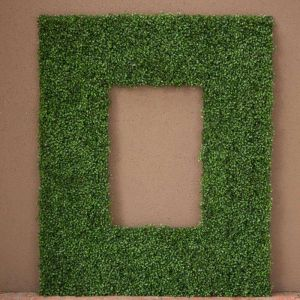 Boxwood Outdoor Artificial Frame 60in.L x 42in.H w/ 36in.L x 18in.H Opening