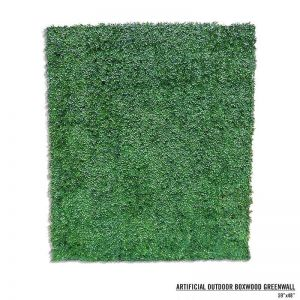 Boxwood Artificial Outdoor Living Wall 96in.L x 72in.H