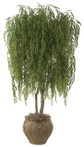 8' Fire Retardant Weeping Willow Tree - 5,088 Leaves