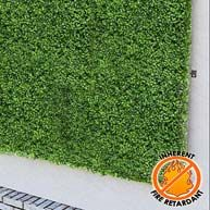 A rated NFPA Fire resistant green walls for buildings