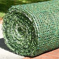 DIY green wall rolls