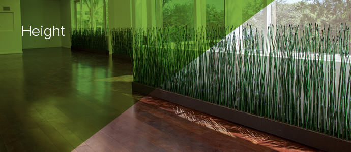 Artificial Horsetail Reed Height